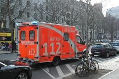 Rettungsauto in Berlin