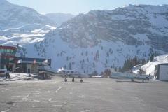 Flugplatz Courchevel