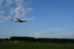 British Airways Maschine bei der Landung