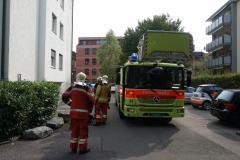 Feuerwehrauto Drehleiter